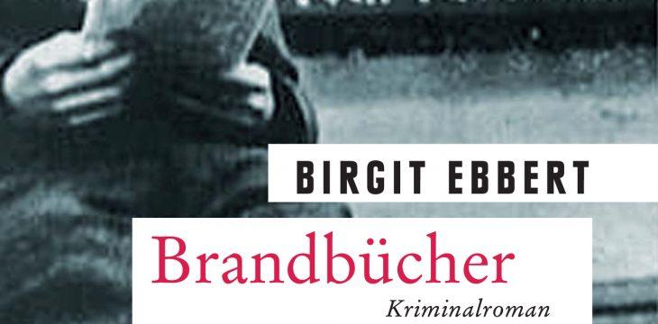 """Autorenlesung mit Dr. Birgit Ebbert """"Brandbücher"""" am 06. November 2018"""