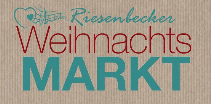 Weihnachtsmarkt in Riesenbeck am 30. November & 1. Dezember 2019
