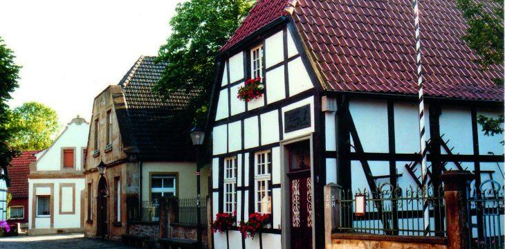 Wendetheater im Heimathausgarten zum Vorabend der Kirmes in Bevergern am 23. August 2019