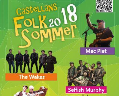 15. Castallans Folk Sommer 2018 am 28. Juli 2018