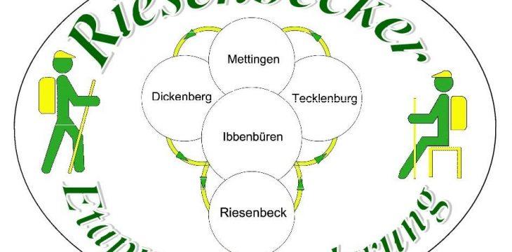 Riesenbecker Etappenwanderung vom 14. April – 16. Juni 2019