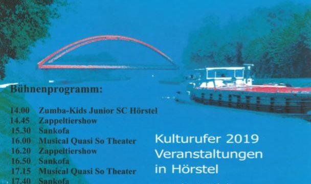 Kanalfest Bergeshövede – Familiensonntag am 28. Juli 2019