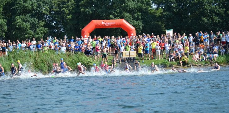 37. Riesenbecker Triathlon am 25. August 2019