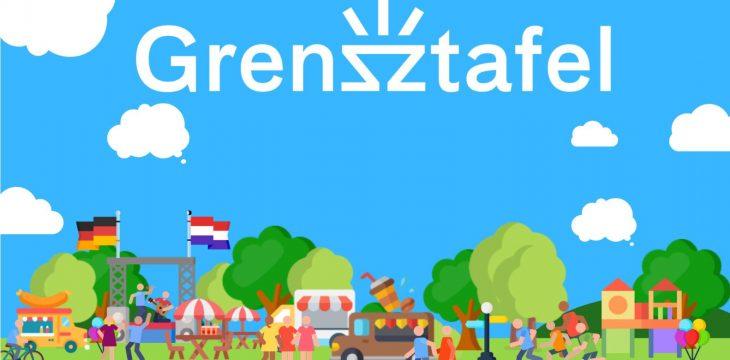 EUREGIO Grensztafel am 20. Oktober 2019 in Vreden-Gaxel/Winterswijk