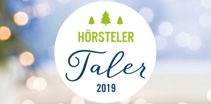 Hörsteler Taler 2019 – Vom 22. November bis 24. Dezember 2019 Taler sammeln