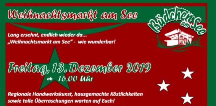 Weihnachtsmarkt am Torfmoorsee am 13. -14. Dezember 2019