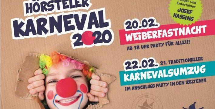 Karneval des CVH vom 20. – 22. Februar 2020 in Hörstel