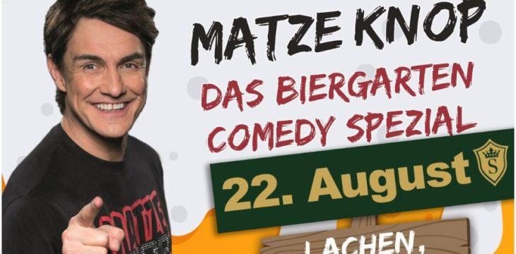 Matze Knop im Parkhotel Surenburg am 22. August 2020